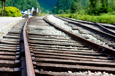 Tracks at Crawford Depot.