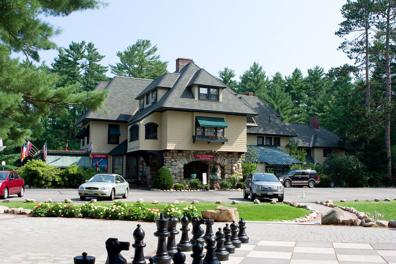 Stonehurst Manor, where we stayed.