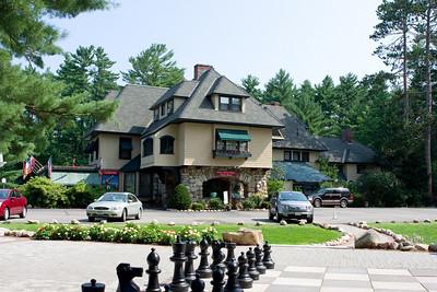 Stonehurst Manor, where we stayed.