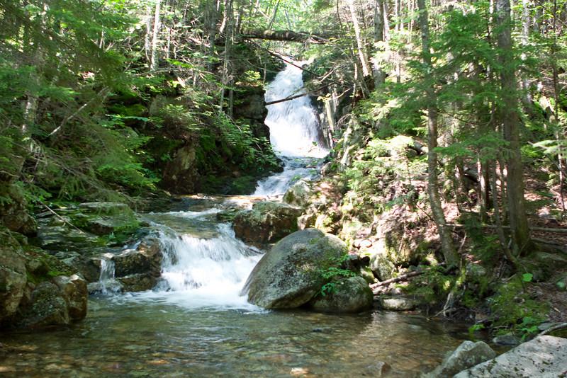 Cascades along the Mt. Avalon Trail.