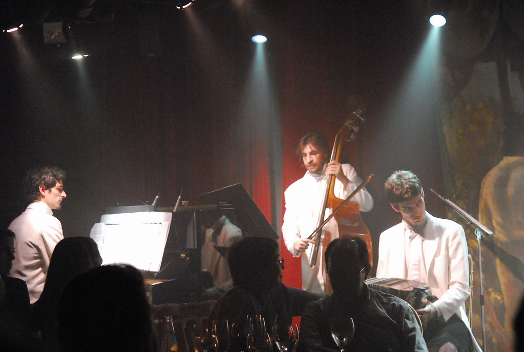 Rojo Tango show at the Faena Hotel