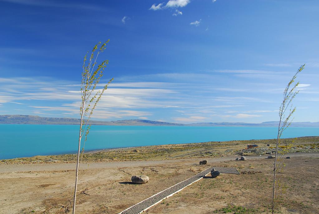 Lago Argentina glacier lake by day!