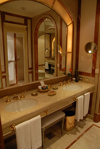 The Alvear Palace Hotel top-end suite bathroom in B.A.