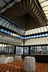 The Alvear Palace Hotel rooftop glass room in B.A.