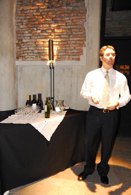 Wine tasting at El Zanjon caverns