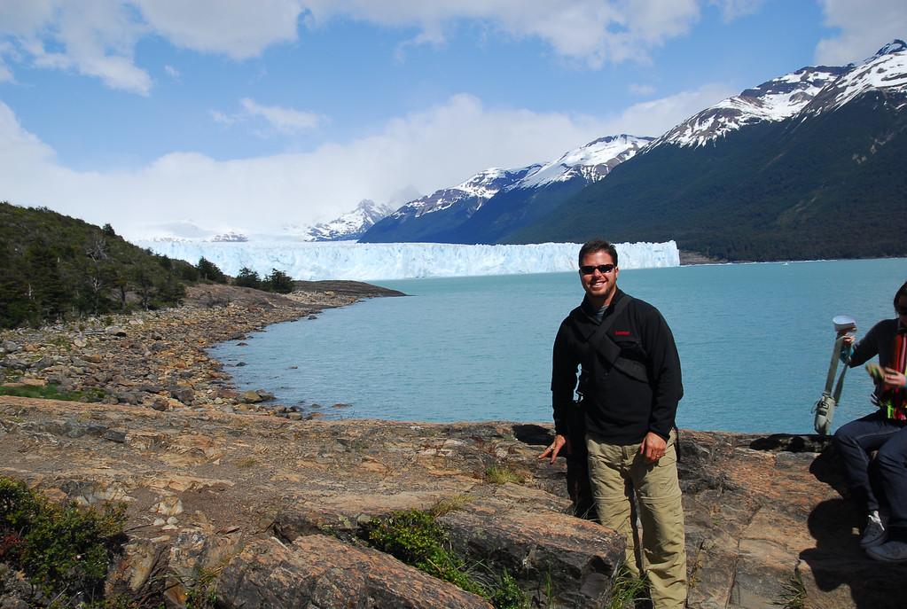 Jared glacier in back