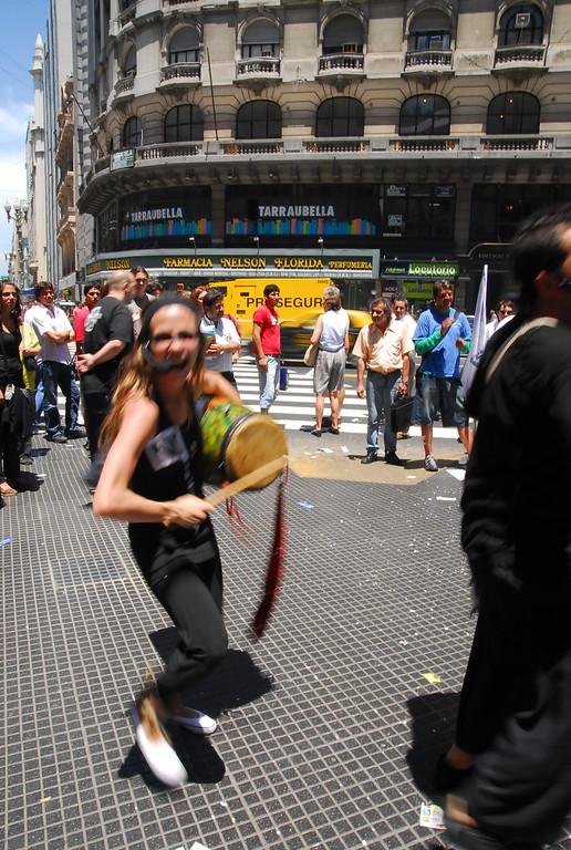 Street dancers in BA