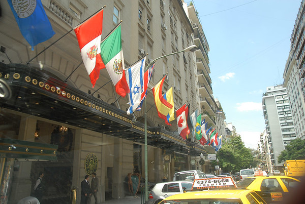 "The Alvear Palace ""citie's finest"" Hotel for lunch in BA"