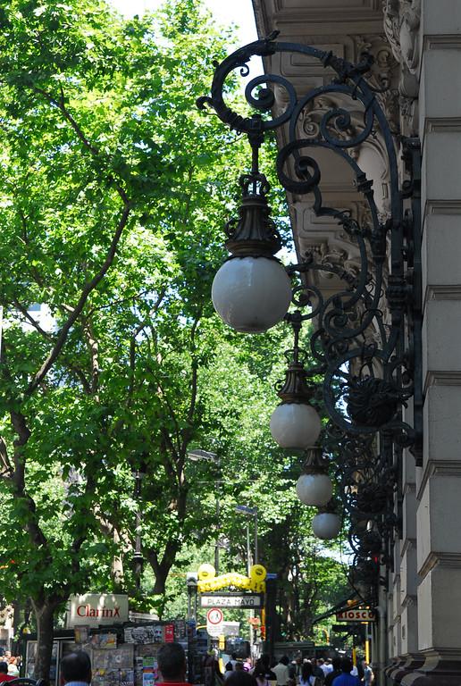 Great street lights in BA