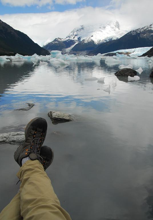 Again hard at work in Patagonia