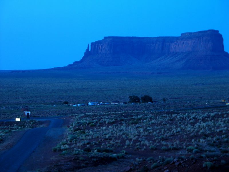 Navajo & Hopi Reservation, July 2005