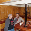 Down below in the Captains cabin, Pam tried to sweet talk the skipper. He loved it!