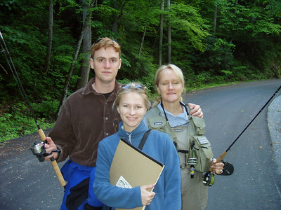 2006-Doreen's First Fly Fishing Adventures