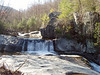 Hunt Fish Falls, Lost Cove Creek, Avery Co. NC