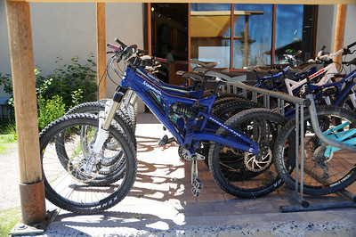 Rental bikes for Mammoth ski slopes
