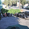 A tour group of Italian Harley riders were also staying at our inn.