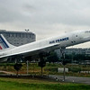 Air France Concorde F-BVFF on display at Charles De Gaulle Airport, Paris