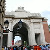The Menin Gate, inaugurated in 1927 to commemorate the fallen soldiers during the First World War