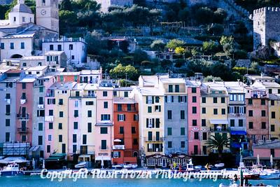 La Spezia Italy Finished Metallic Emulsion on Canvas