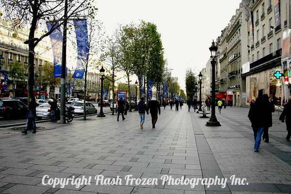 Champs Elyssee - Novembre in the rain