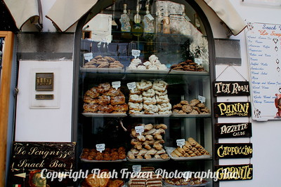 Bakery Window, Amalfi Coast, Italy November 2005