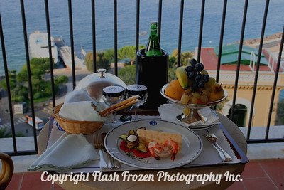Lunch in Sorrento, Italy Grand Hotel Excelsior Vittoria 2005