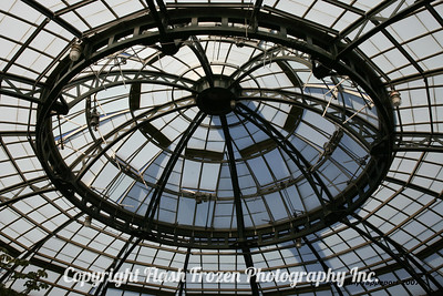 Greenhouse Roof 2007 Huntington Library - Pasadena California