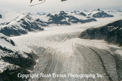Taku Glacier, Alsaka 2001 - Aerial Shot