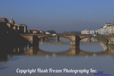 Pontevecchio and the Arno River, Florence, Italy