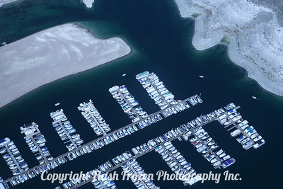 Lake Mead Marina from Helicopter 2006