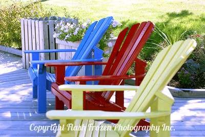 Adirondak Chairs 2004 - Nova Scotia, Canada