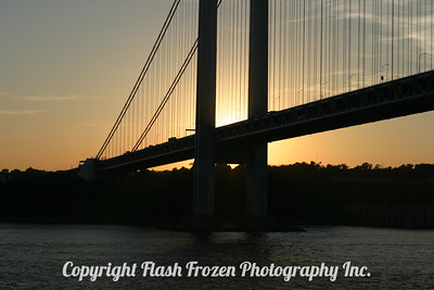 Verrazano-Narrows Bridge  Between Staten Island and Brooklyn 2004