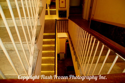 Hotel Stairwell, Sorrento, Italy 2005