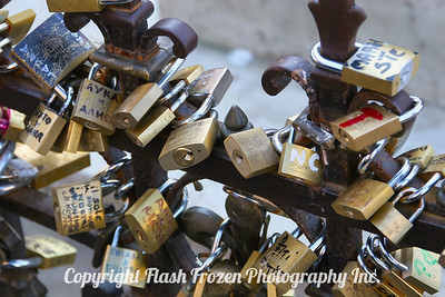 Locks of Love on the Pontevecchio - Florence, Italy