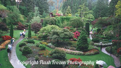 Buchart Gardens, Victoria, BC, Canada