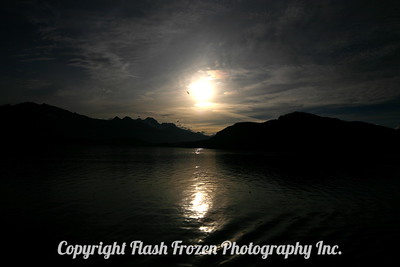 Sunset in Sitka, Alaska 2006