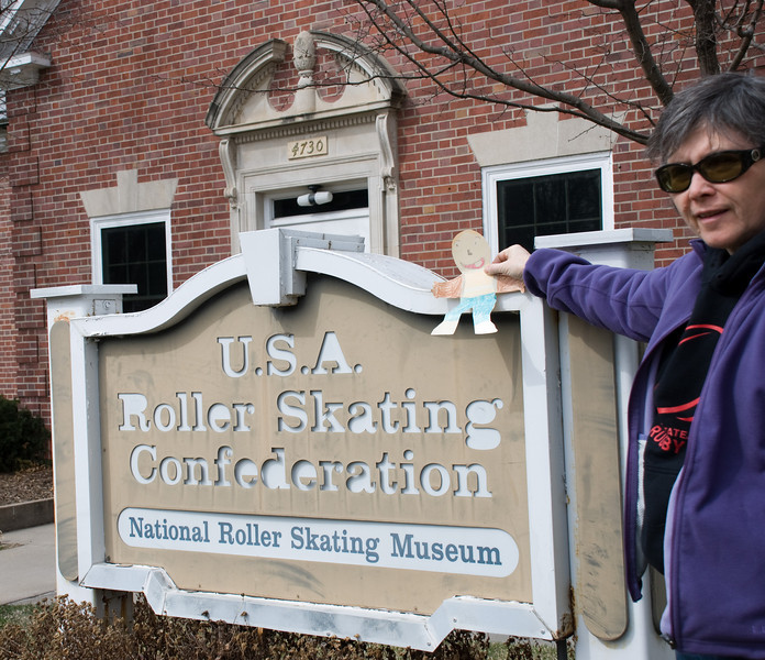 The National Roller Skating Museum in Lincoln, Nebraska.