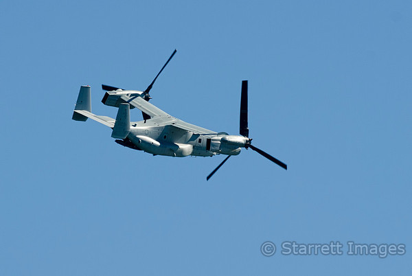 US Marines  V-22 Osprey tilt rotor vertical takeoff and landing