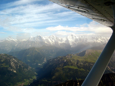 Flight Grenchen-Valais