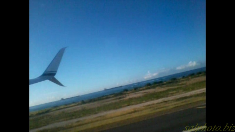 """Hawaii: Taking off from Oahu Island-Farewell :(<br /> <a href=""""https://youtu.be/V2IEbvIEPnc"""">https://youtu.be/V2IEbvIEPnc</a>"""