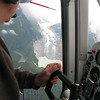 "Paul Swanstrom (Mountain Flying Service, flyglacierbay.com) says """"Welcome to my office"""""