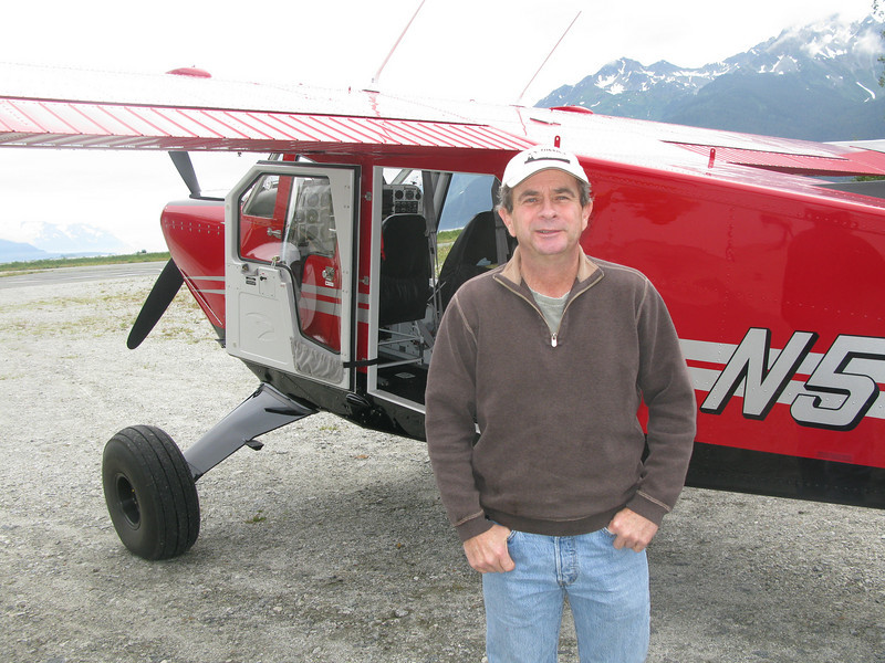 Paul Swanstrom and Bush Hawk XP (flyglacierbay.com)
