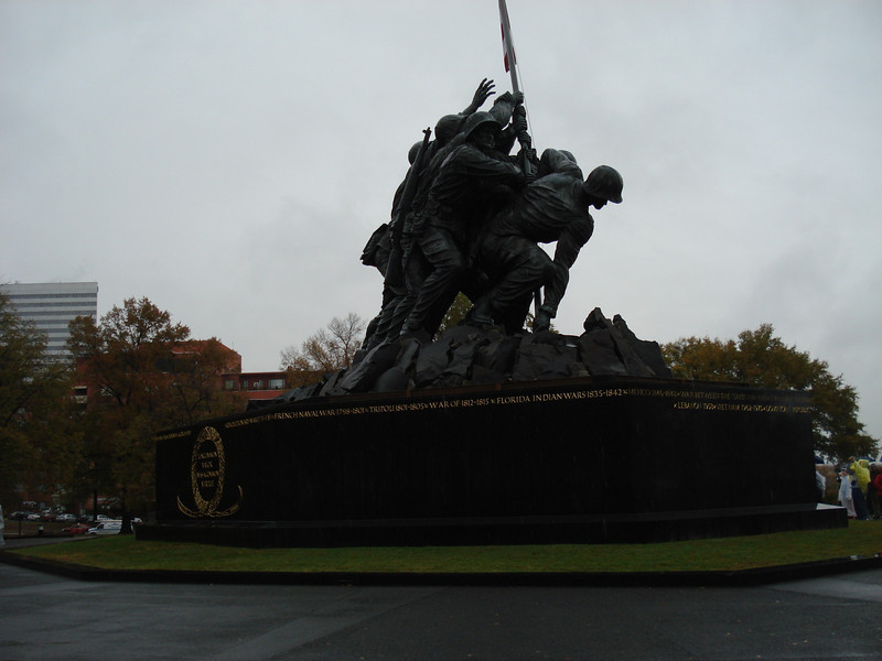 "Marine Corps ""Iwo Jima"" National Memorial"