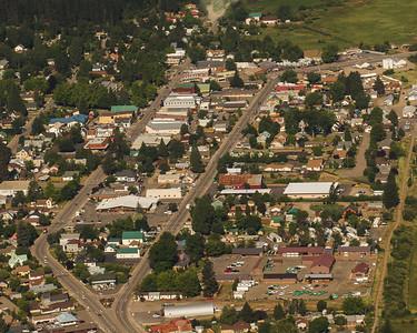 Quincy, Ca.  Big logging town.