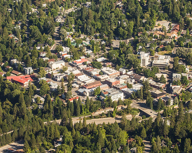 Nevada City.  Small town of less than 3,000 souls.  Only one stop light.  In the mid-1800's, this was the third largest town in California.  A tent maker by the name of Levi started making trousers here for the miners.  Great little town.