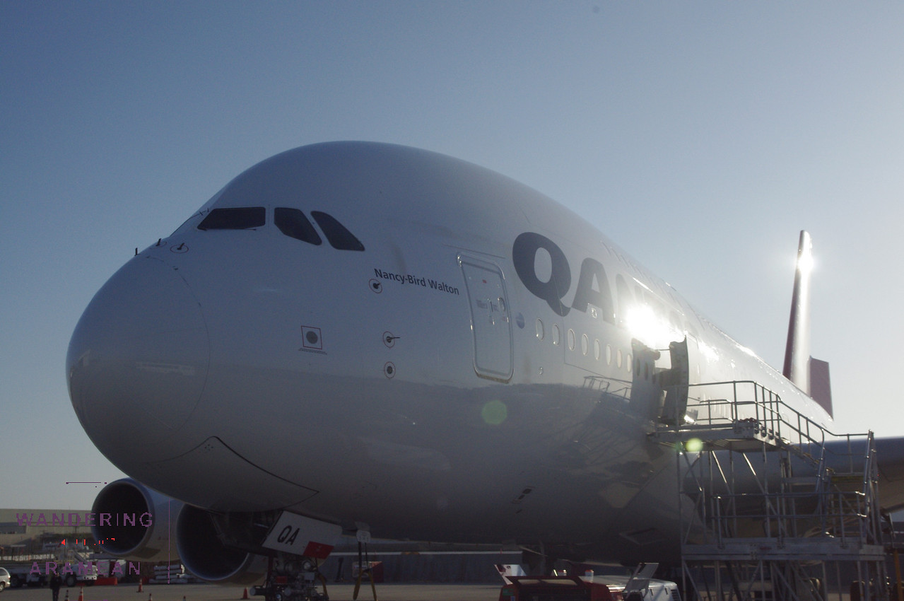 Another shot of the A380.
