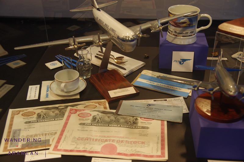 More Pan Am memorabilia