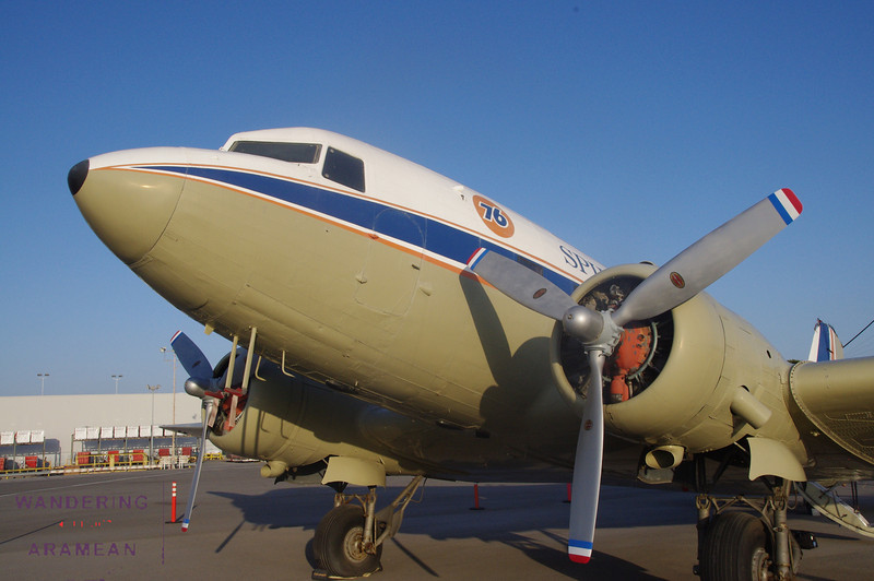 The DC-3 from the outside.