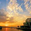 Floating Island Sunset