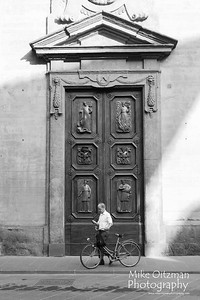 Man and Door